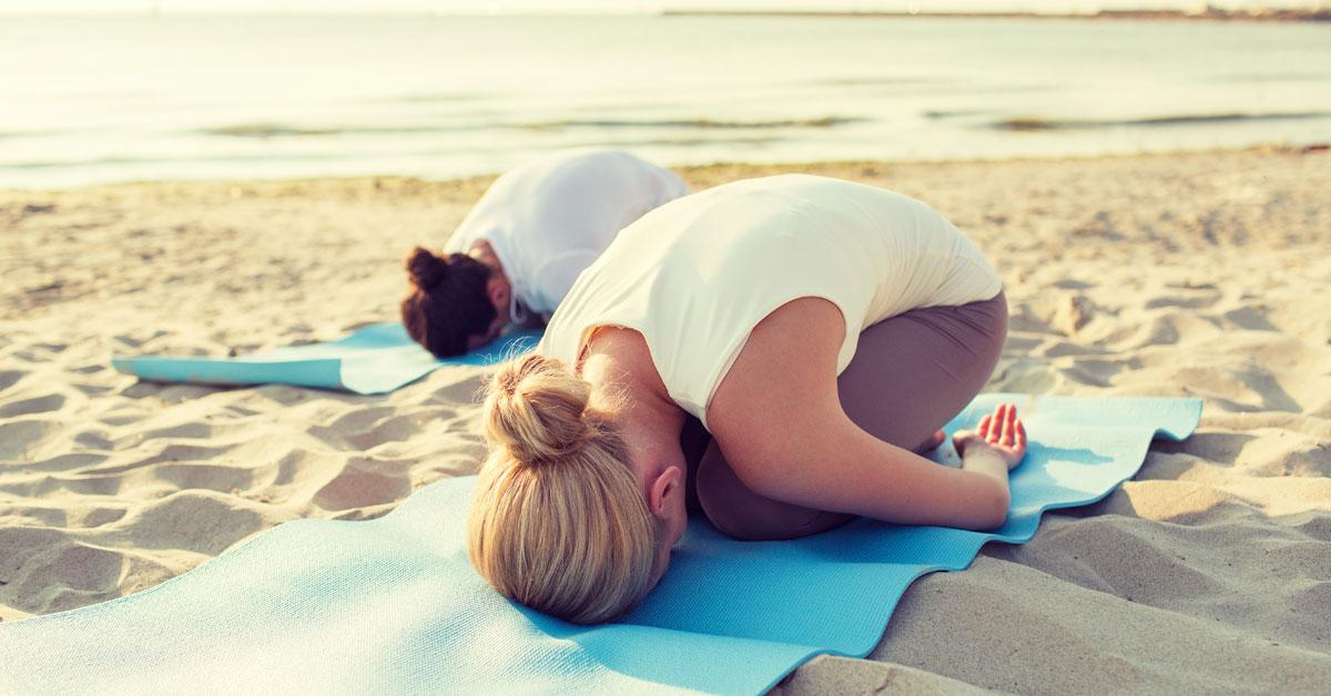 Surf and Yoga Yin