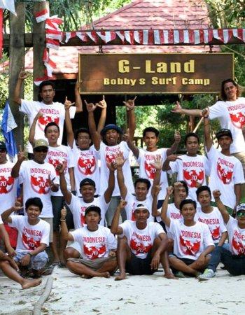G-Land Bobby's Surf Camp Headquarters
